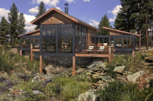 The Canyon Cabin Lodge design starts at $165,000!